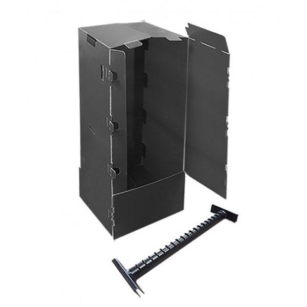 Short-Plastic-Wardrobes-Black-18-x-20-x-40-with-Plastic-rail